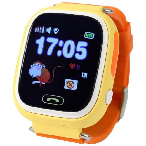 Smart Baby Watch Q100 Orange