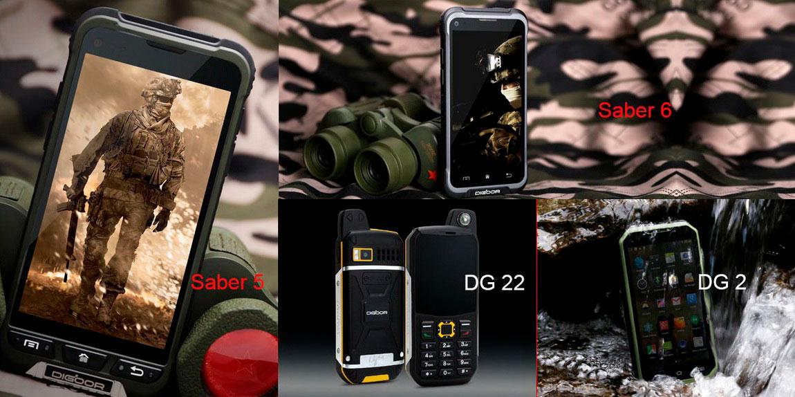 Дигур широкий выбор защищенных смартфонов и телефонов, мобильные устройства с рацией PTT IP68