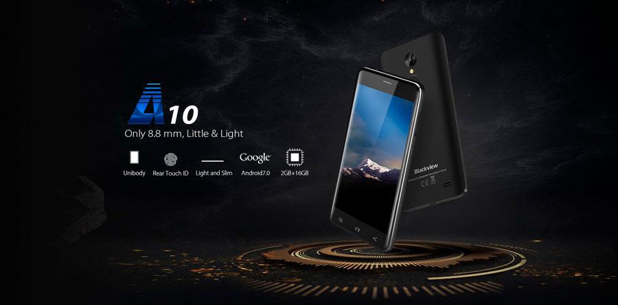 бюджетная линейка смартфонов Blackview A в скором времени будет пополнена еще одним аппаратом - Blackview A10