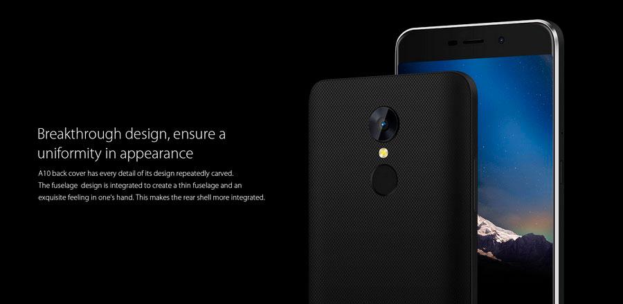 Китайская компания Blackview выпустила новый смартфон бюджетной A-серии устройств — Blackview A10