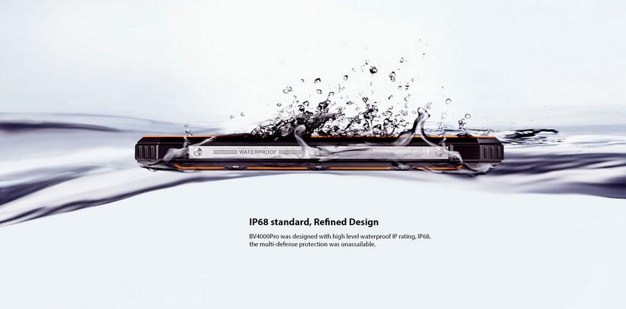 BV4000 pro как и все остальные представители BV-серии, он отличается защитой от воды и пыли, а также падений.
