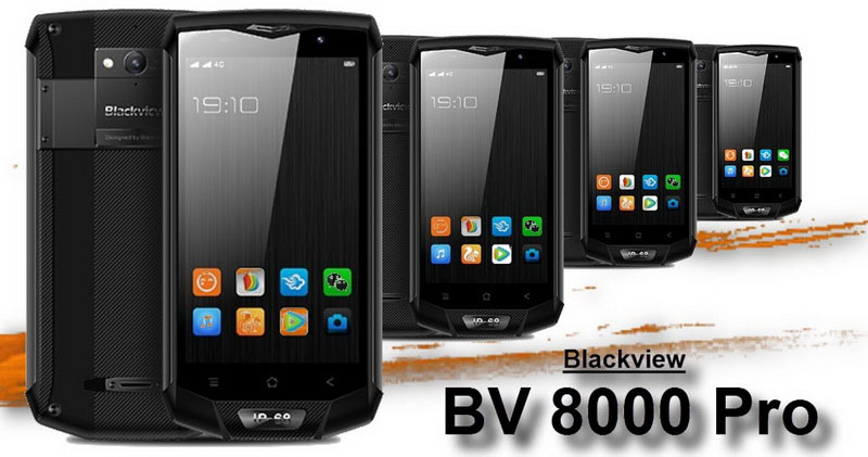 Blackview BV8000 Pro Eagle Silver самый ожидаемый защищенный смартфон 2017 года