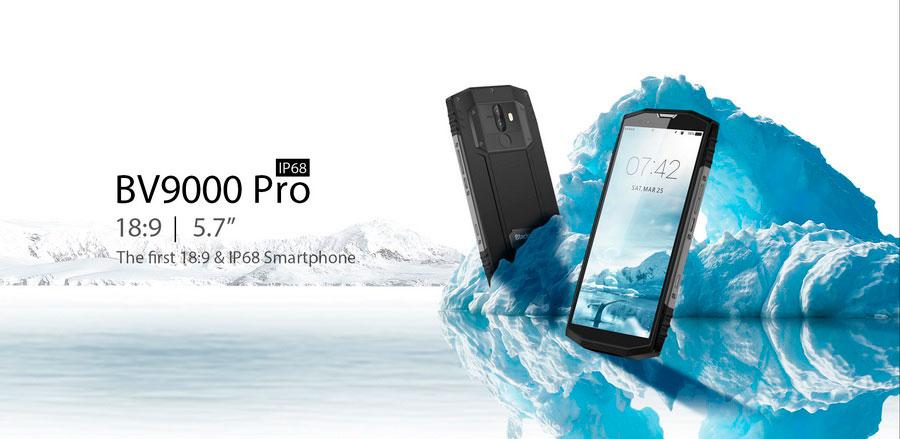 Blackview BV9000 Pro первый в мире телефон в ударопрочном корпусе с соотношением сторон дисплея 18:9