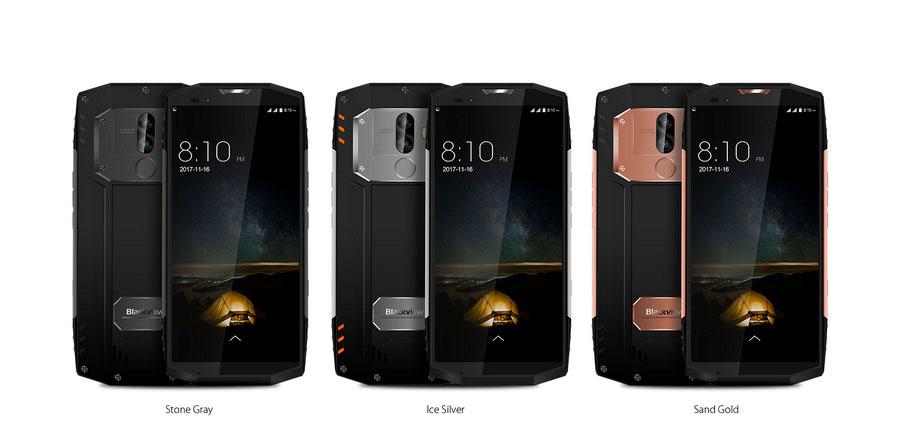Экран смартфона Blackview BV9000 Pro имеет диагональ 5,7 дюйма при разрешении 1440 х 720 пикселей