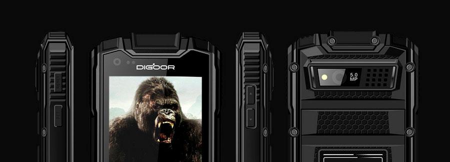 Digoor DG1 - защищенный смартфон с Walkie-Talkie