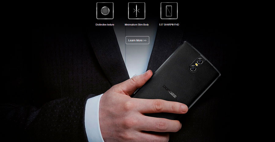Телефон Doogee BL7000 Black 4Gb RAM 64Gb ROM