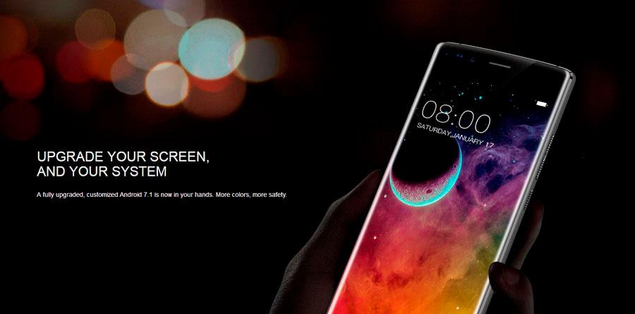 Doogee MIX 2 Ocean Blue - cмартфон с безупречным дизайном