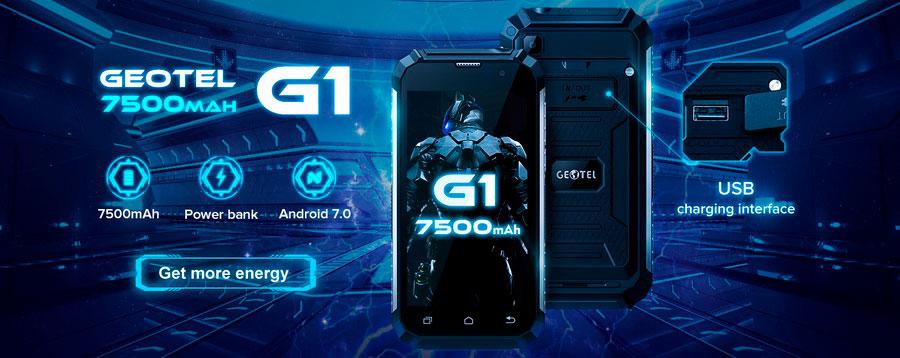 Защищенный смартфон Geotel G1 Terminator поступил в продажу