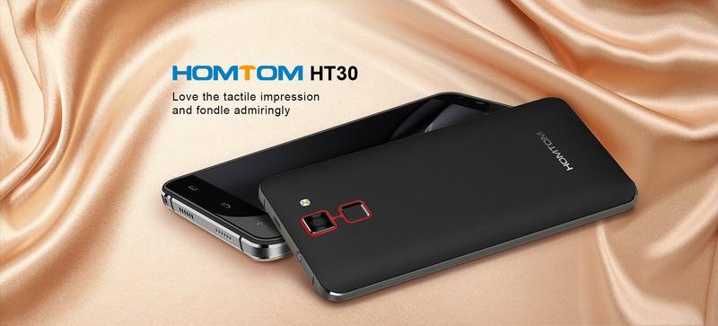 Homtom HT30 White бюджетный смартфон с экраном 5,5 дюймов