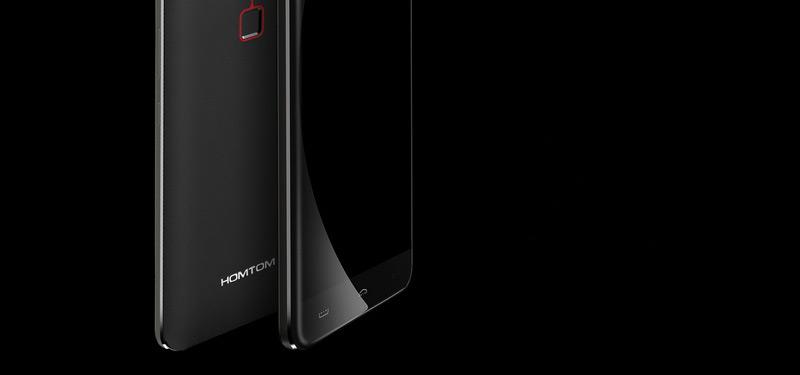 Homtom HT30 White со сканером отпечатка пальцев