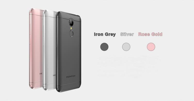 homtom ht37 silver бюджетный смартфон новинка 2017 года