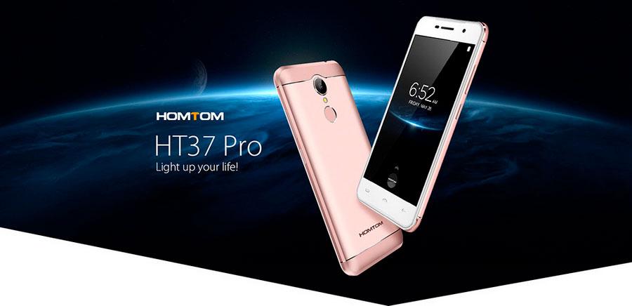 Homtom HT37 Pro Iron Grey Задняя камера 13 Мп Фронтальная камера 5 Мп