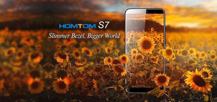 """Homtom S7 еще один """"бюджетник"""" с экраном 18:9"""