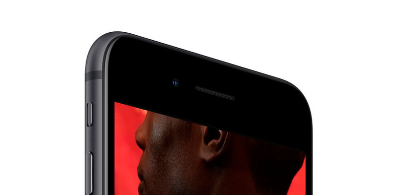 В новой копии iPhone 8 Space Gray Экран установлено стекло повышенной прочности Corning Gorilla Glass 4