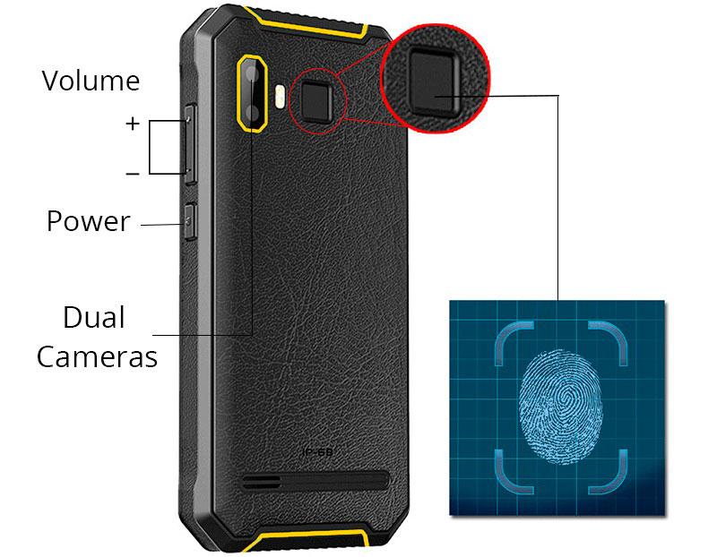 Jeasung P8 или Land Rover P8 противоударный смартфон с датчиком отпечатков пальцев