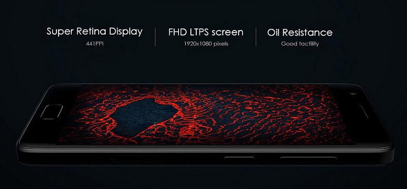 Lenovo Zuk Z2 White (4GB RAM Snapdragon 820) ретина дисплей с плотностью пикселей 424 ppi
