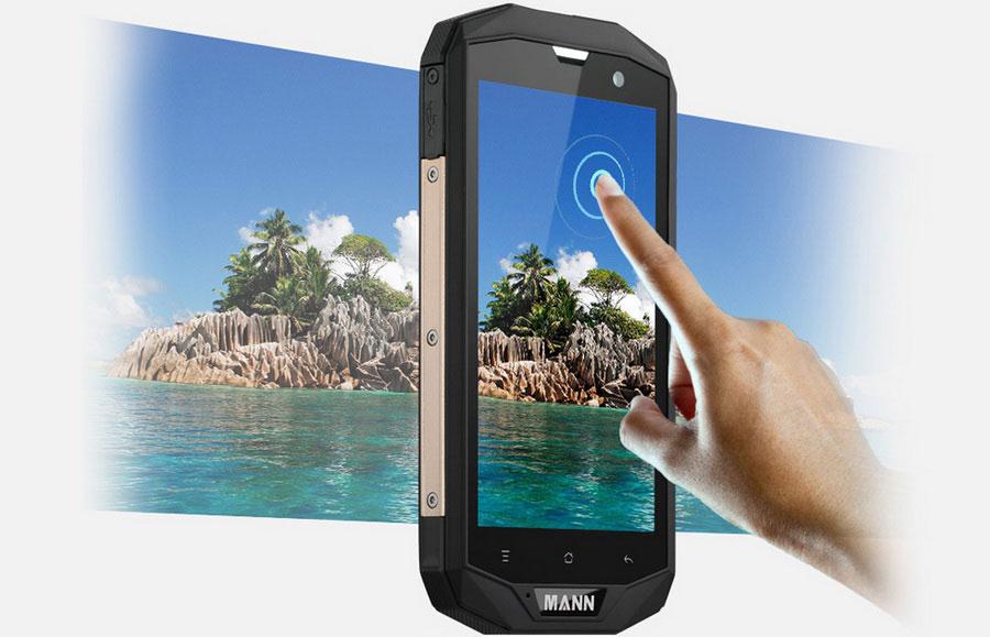 Представленный ранее защищенный смартфон с большой батареей Mann ZUG 5S получил приставку Plus