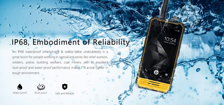 Компания Nomu представила защищённый смартфон T18, 4,7-дюймовый HD-дисплей, 3 ГБ оперативной памяти и встроенный накопитель на 32 ГБ