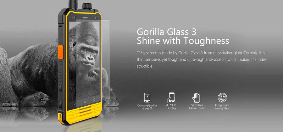 Nomu T18 – ультра защищенный смартфон