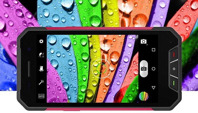 Oinom V1600 Black защищенный смартфон имеет также название Nomu V1600