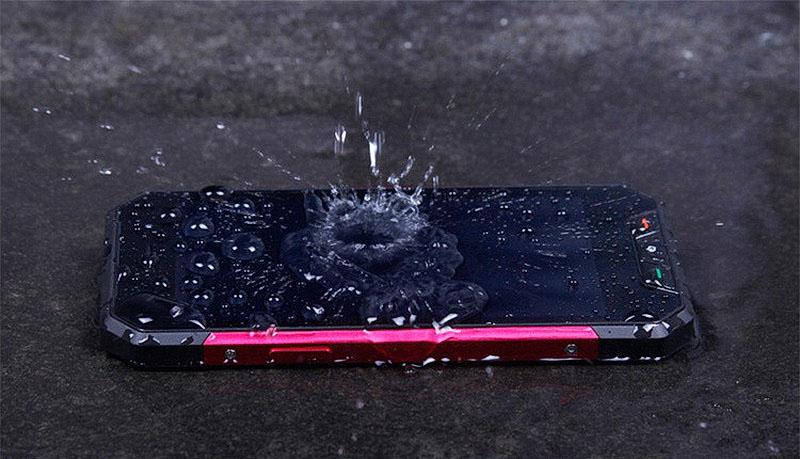 Oinom V1600 (Nomu V1600) телефон защищен от воды