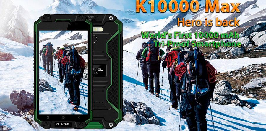 OUKITEL K10000 MAX доступен для предзаказа