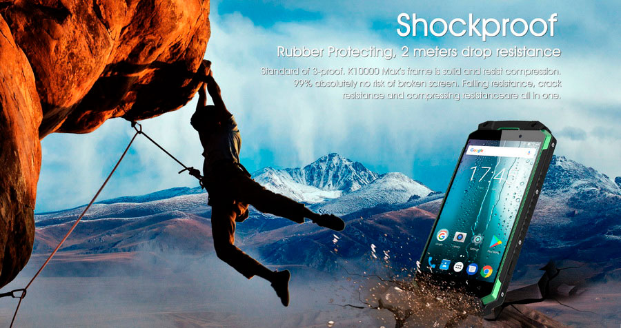 Oukitel представила ещё одну улучшенную версию своего смартфона K10000, новинка, получившая название K10000 Max