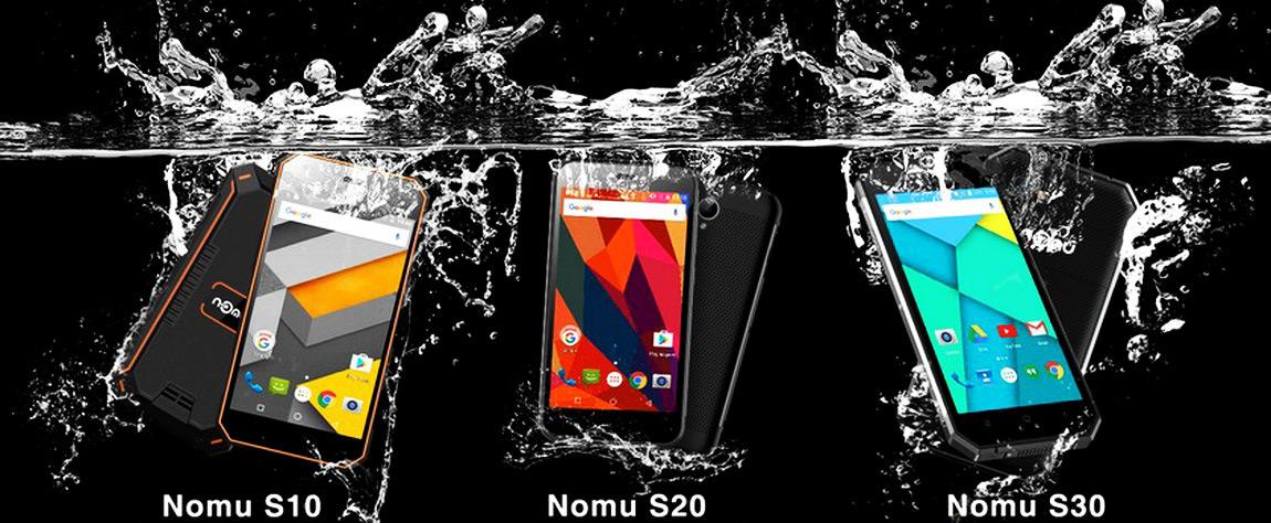 защищенные смартфоны и телефоны Nomu в Украине