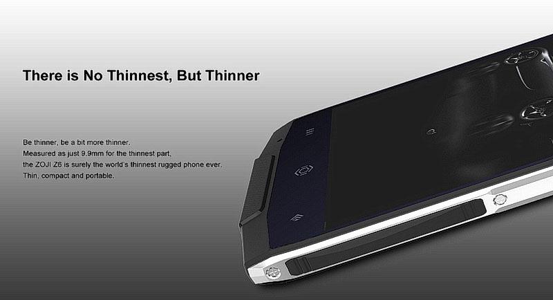 Zoji Z6 стильный и качественный водонепроницаймый телефон
