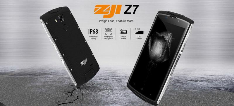 zoji z7 очень тонкий защищенный смартфон