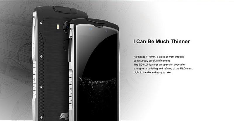 Купить противоударный ZOJI Z7 Green (тонкий защищенный смартфон IP68 ... fc7c701ffc4c7