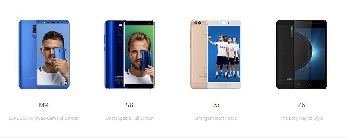 Смартфоны Leagoo, все модели Leagoo M8 Pro, Leagoo Kiicaa, Leagoo M7, Leagoo T5