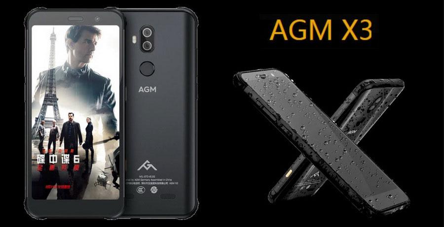agm x3 6gb ram 64gb rom оригинальная конструкция, включающая особый металлический каркас и ударопрочную заднюю крышку с защитой от падения