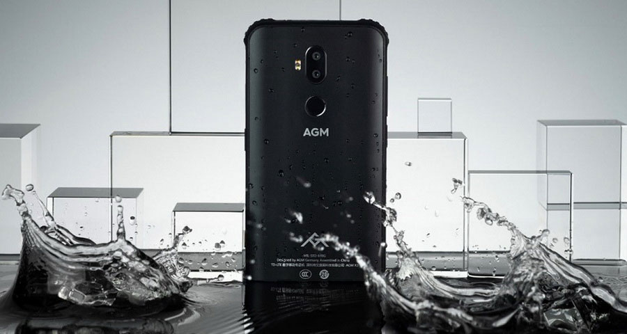 AGM X3 6/64Gb Black сверхзащищённый флагман на Snapdragon 845