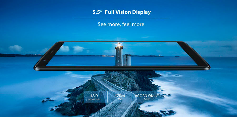 Blackview A20 дешёвый китайский 3G-смартфон на Android Oreo Go edition