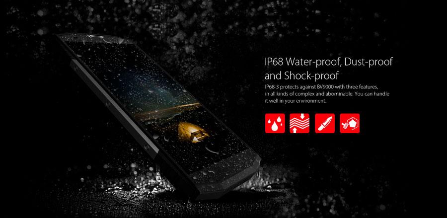 Blackview BV9000 Ice Silver (4Gb RAM 64Gb ROM) - это новейший высококачественный смартфон с ударопрочным корпусом и защитой от влаги и пыли по стандарту IP68