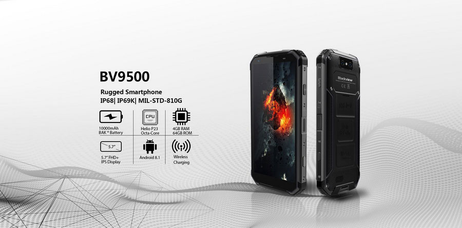 Blackview BV9500 - смартфон, которому все нипочём