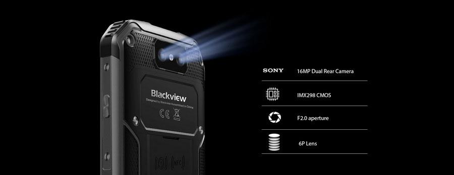Сверхзащищенный смартфон в 2019 году Blackview BV9500 Plus black