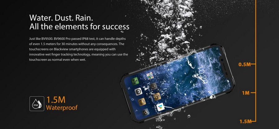Blackview BV9600 Pro Silver - защищенный смартфон