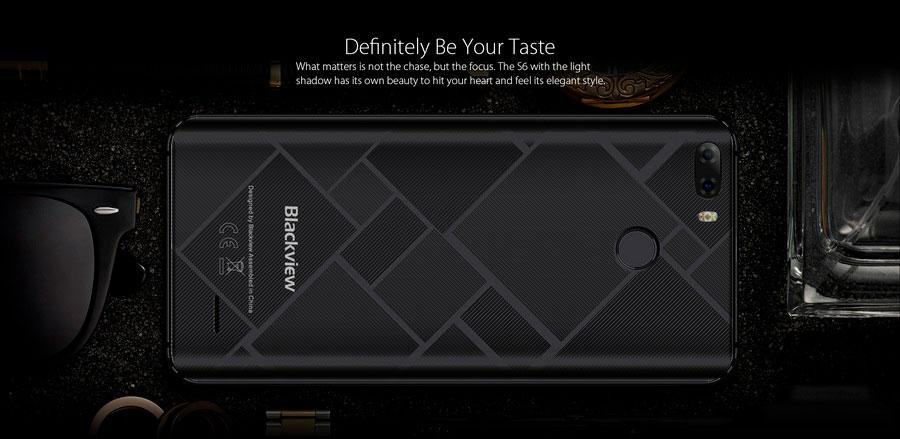 Полноэкранный Blackview S6 с ёмким аккумулятором