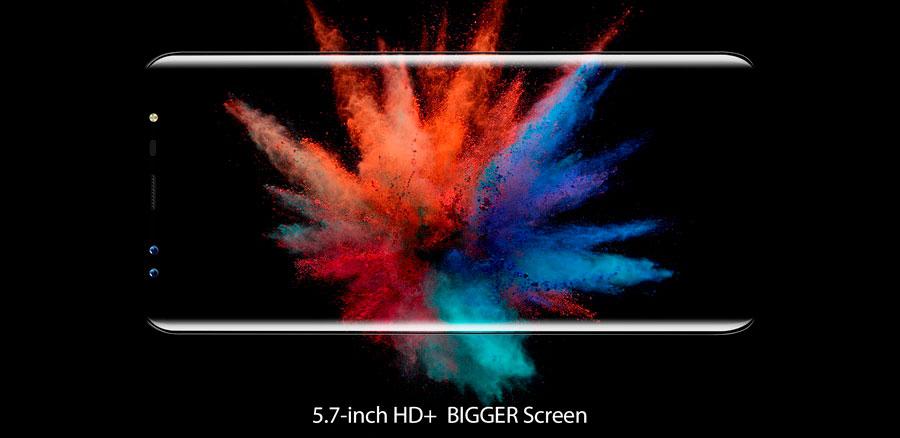 "Blackview S8 Coral Blue 5.7"" экран с разрешением HD+"