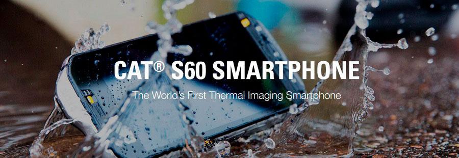 Caterpillar CAT S60 первый в мире тепловизионный смартфон