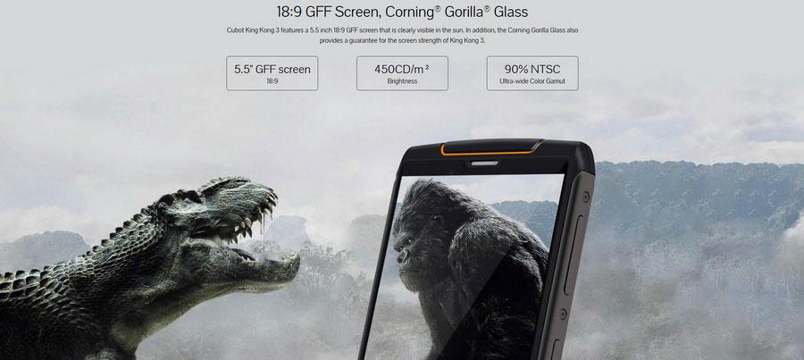 CUBOT King Kong 3 4G Phablet