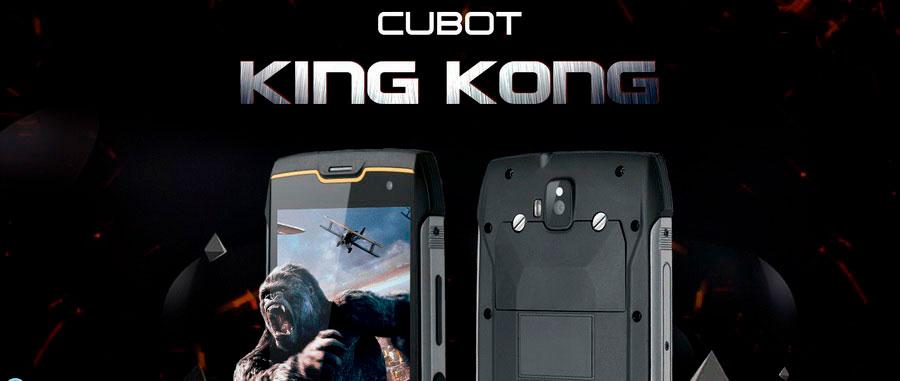 Компания CUBOT представила защищенный смартфон с большим аккумулятором и брутальным названием King Kong