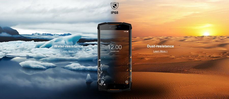 В продаже появился защищенный смартфон Doogee S55