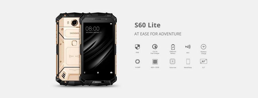 Doogee S60 Lite IP68