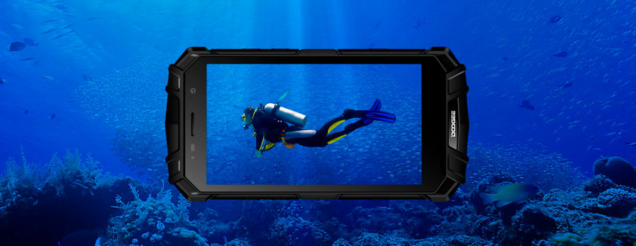 Защищённый смартфон Doogee S60 Lite недорогий «невбиваємий» смартфон
