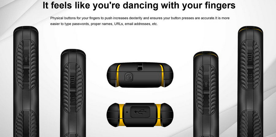 EL S200 Yellow (E&L W3) EL S200 четырехдиапазонный разблокированный телефон