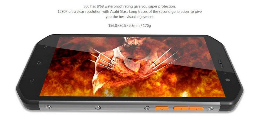 E&L S60 3Gb RAM 64Gb ROM IP68