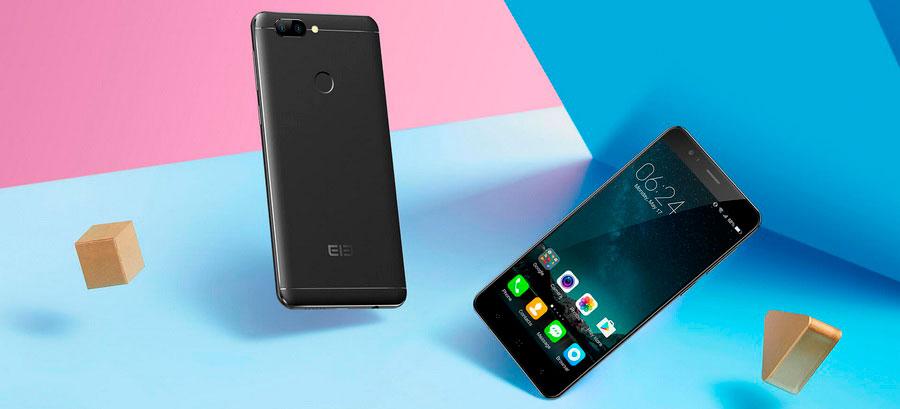 Elephone P8 mini  - компактнsq смартфон с хорошим запасом памяти, как оперативной 4Гб, так и основной 64Гб